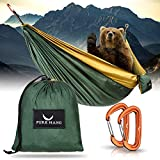 PURE HANG Premium Double Hamac XXL de Camping Voyage Jardin Exterieur...