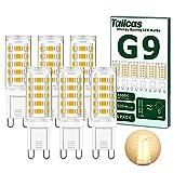 Ampoule G9 LED 3.5W, Blanc Chaud 3000K G9 LED, Sans Scintillement, Lumiere...