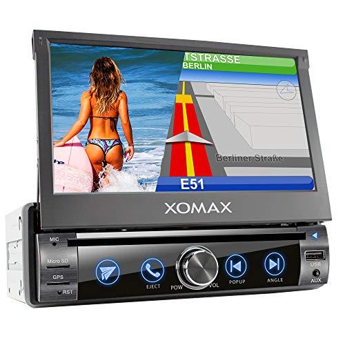 XOMAX XM-DN763 Autoradio mit Mirrorlink, GPS Navigation, Navi Software,...
