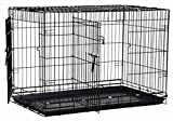 Precision Pet Two-Door Great Crate, Large - 42x28x30 inches