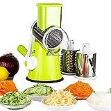 Mandolines Multifonctions à légumes Coupe-Légumes Manuel avec 3 Lames...