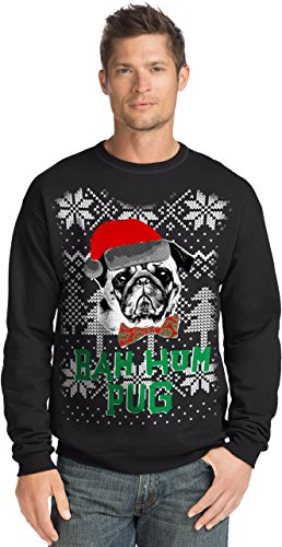 Hanes Men's Ugly Christmas Sweatshirt