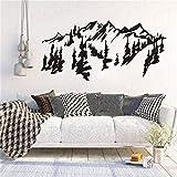 wZUN Diseño de Arte decoración del hogar Pegatina a Dos Aguas decoración de la casa extraíble Creativa Hermosa calcomanía 85X40 cm