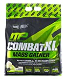 MusclePharm Combat XL Mass-Gainer Powder, Weight Gainer Protein Powder, 1270 Calories per Serving, 50 Grams of Protein, MCTS Flax and Chia Seeds, Vanilla, 12-Pounds