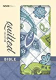 NIV, Quilted Collection Bible, Compact, Hard Cover, Blue/Green Cloth by Zondervan (2013-02-23)