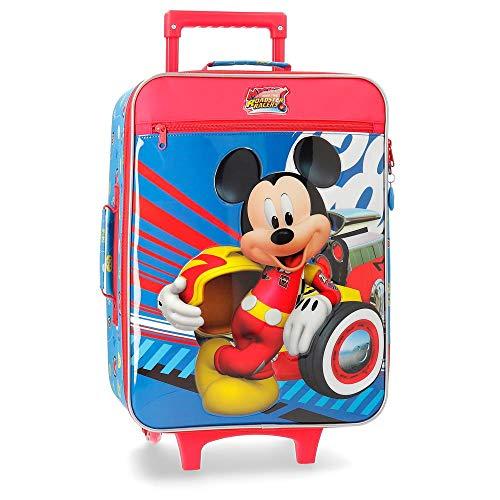 Disney World Mickey Valigia per bambini 50 centimeters 28 Multicolore (Multicolor)