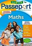 Passeport Cahier de vacances 2020 - Maths de la 4e à la 3e