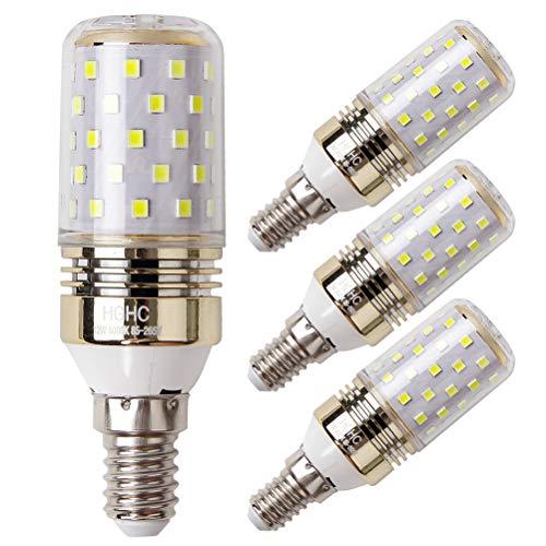 E14 Lampadina di Mais LED 12W, Bianca Freddo 6000K, 100W Lampadine a Incandescenza Equivalenti, 1200...