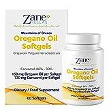 Zane Hellas Oregano Oil Softgels. La concentration la plus élevée au monde....