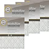 Enviroflow 20X22X1A (Actual Size) Pollen and Dust Control (4 Pack)