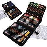 Crayon de Couleurs Professionnel, 96 pcs Crayon Aquarellable et Crayon Dessin...