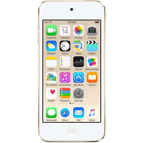 Apple iPod touch 64GB WiFi MP3 Player 6th Generation - Gold (Renewed)