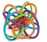 Manhattan Toy Jouet de dentition sensoriel et hochet de Winkel
