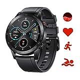 Honor Magic Watch 2 Smartwatch,GPS 5ATM Impermeabile Orologio Bluetooth Smart Monitor di Frequenza Cardiaca, Stress e Spo2,Smart Watch Donne Uomo, Per Android (Nero 46mm)