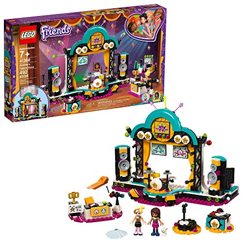 LEGO Friends Andrea's talent Show 41368 Building Kit (429 Pieces)