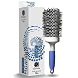 Professional Round Brush for Blow Drying - Large Ceramic Ion Thermal Barrel Brush for Sleek, Precise Heat Styling and Maximum Volume - Lightweight, Antistatic Bristle Hair Brush by Osensia - 2 Inch