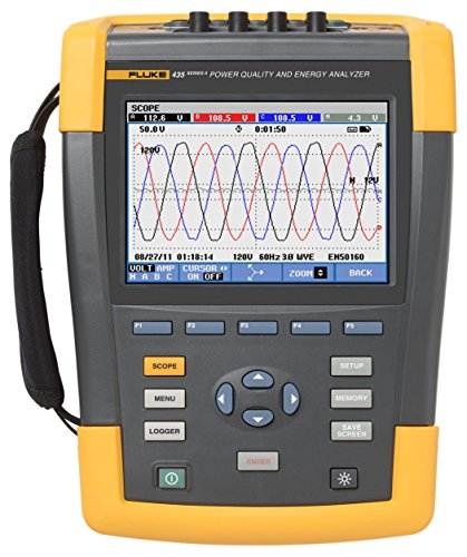Fluke 435 Series II Three-Phase Power Quality and...