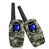 Retevis RT628 VOX UHF Portable 22 Channel FRS Kids Walkie Talkies (Camouflage)