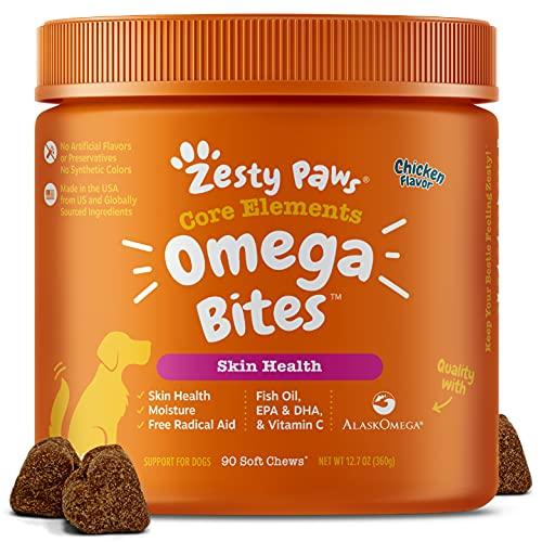 Zesty Paws Omega 3 Alaskan Fish Oil Chew Treats...