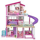 Barbie Mobilier Dreamhouse, maison de rêve pour poupées avec piscine,...