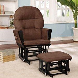 nursery glider chair and ottoman