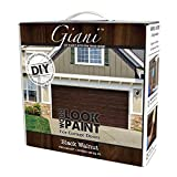 Wood Look Paint Kit for Garage Doors (Black Walnut)