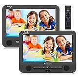 Naviskauto Lecteur DVD Blu Ray Portable Voiture Double Ecran d'appuie-tête pour...