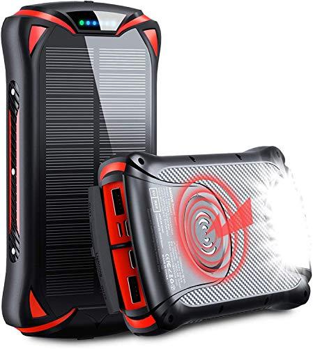 Chargeur Portable sans Fil Aikove 10W 30000mAh PD 18W Batterie Externe...