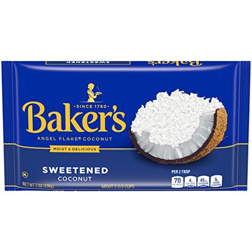 Baker's Sweetened Angel Flake Coconut (7 oz Bag)