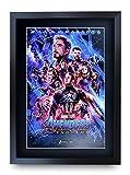 HWC Trading Avengers Endgame A3 Encadré Signé Image Autographe Imprimé...