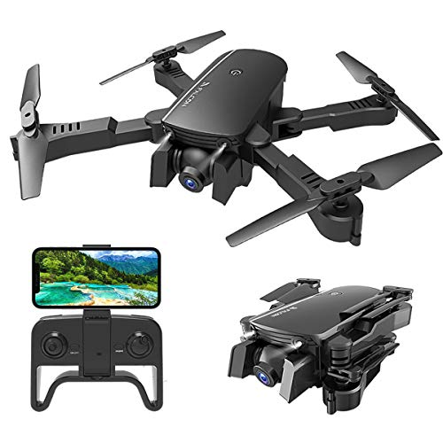 MIXI WiFi FPV Drones with Camera for Adults, Foldable...