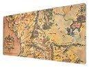 Grupo Erik - Tappetino mouse XXL Il Signore degli Anelli con base in gomma antiscivolo e con rifiniture di alta qualitá, 80x35 cm, 100% waterproof, tappetino mouse e tastiera