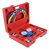 Etools R134a A/C - Kit de herramientas de carga de 5 pies para aire acondicionado