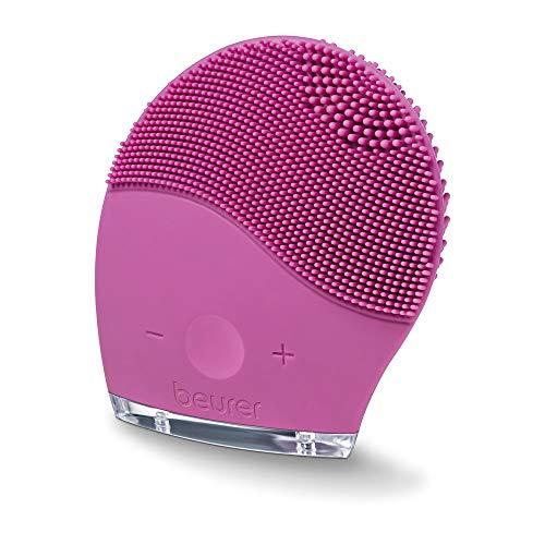 Beurer FC 49 Cepillo facial, limpieza profunda de los poros, masaje, resistente al agua, apto para todos los tipos de piel