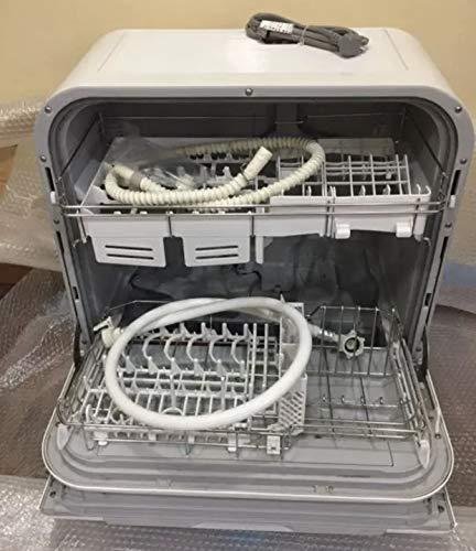 パナソニック 食器洗い乾燥機ガンコな油汚れをすっきり洗浄「パワフルコース」 (ホワイト) (NPTM9W) ホワイ...