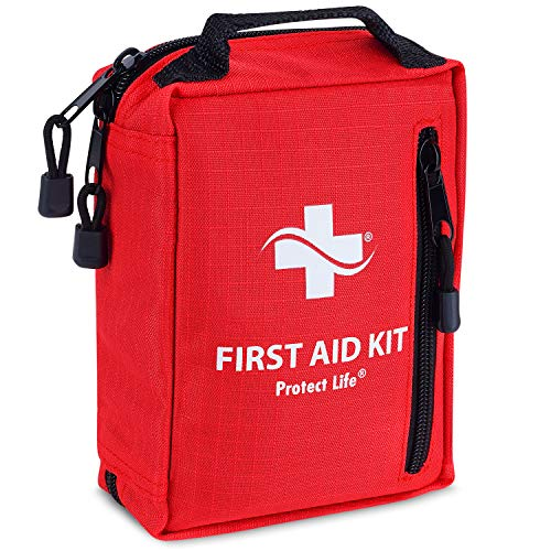 Camping First Aid Kit - Hiking First Aid Kit | IFAK | Small First Aid Kit, Backpacking, Travel, Emergency Survival Kit for Outdoor
