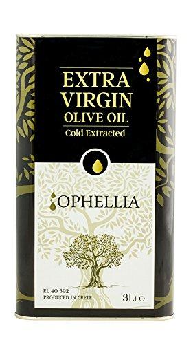 Ophellia Olio Extravergine di oliva Greco 3 litri di stagno dall'isola di Creta
