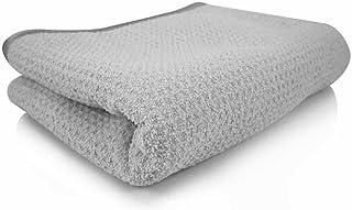 Chemical Guys MIC_781_01 Waffle Weave Gray Matter 70/30 Blend Microfiber Drying Towel..