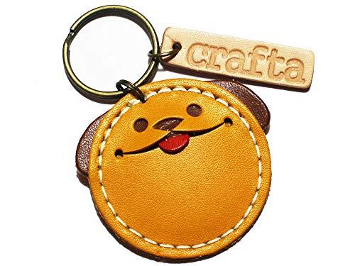 crafta 小銭が入るキーホルダー「コイン犬」 (黄色)