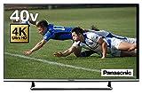 パナソニック 40V型 液晶テレビ ビエラ TH-40DX600 4K USB HDD録画対応 2016年モデル