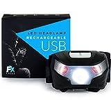 FX FFEXS super usb premium lumineux LED rechargeable phare avec la conception étanche avec 5 modes...