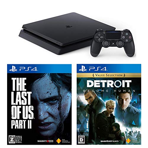 PlayStation 4 + Detroit: Become Human + The Last of Us Part II セット 【CEROレーティング「Z」】