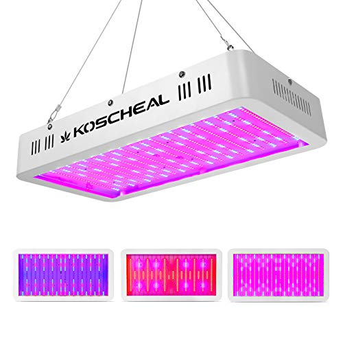 2000W LED Grow Light Full Spectrum, Plant Grow Light with Veg and Bloom Switch for Hydroponic Indoor...