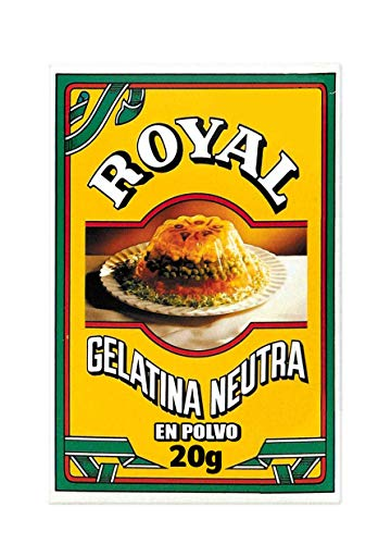 Royal Gelatina Neutra en Polvo para Elaboraciones Caseras, 2