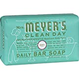 Mrs. Meyer's Clean Day Daily Bar Soap, 5.3 oz, (Basil, Pack of 1)