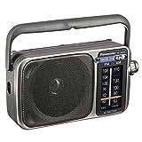 Panasonic Rf-2400D Am/FM Radio, Silver/Grey