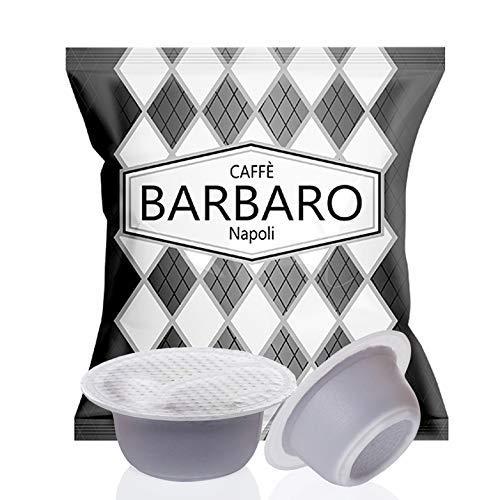 Caffe' Barbaro, Compatibili Bialetti, Miscela Nera, - 100 Capsule