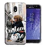 MUNDAZE Design Your Own J3 Case, Personalized Photo Phone case for Samsung Galaxy J3 J337 (2018) Achieve/Express Prime 3/ Amp Prime 3 Perfect Custom Case