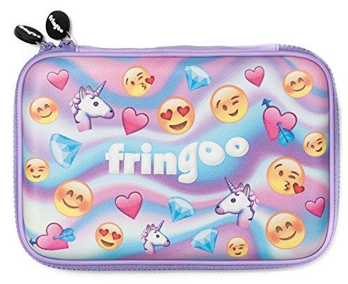 Fringoo Girls Boys Kids Hardtop Pencil Case cute goffrato di grandi dimensioni a scomparti...