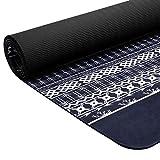 "Matymats Non Slip Yoga Mats - Printed Yoga Workout Exercise Mats with Carrying Strap 72"" X 24"" (72' x 24' Christmas Elk Yoga Mat)"